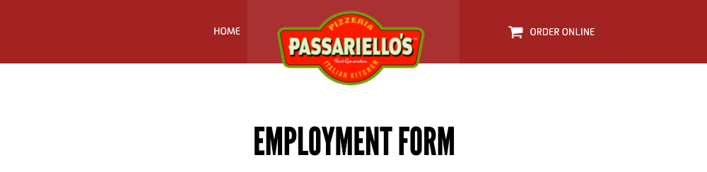 Passariellos Pizzeria and Italian Kitchen - Moorestown